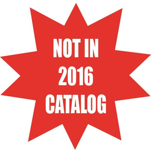 NEW Not in 2016 Catalog