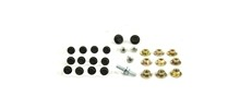 70-72 CHEVELLE DOOR HARDWARE MOUNTING BOLT KIT, 27 PIECES *