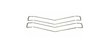 70 CHEVELLE SS/ EL CAMINO SS GRILLE MOLDING KIT, 8 PIECES