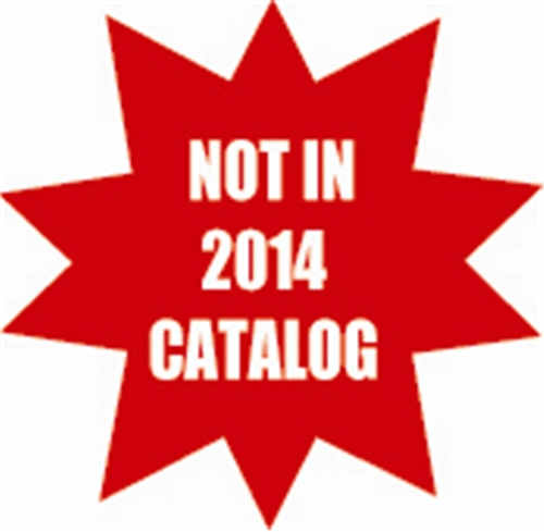 NEW Not in 2014 Catalog